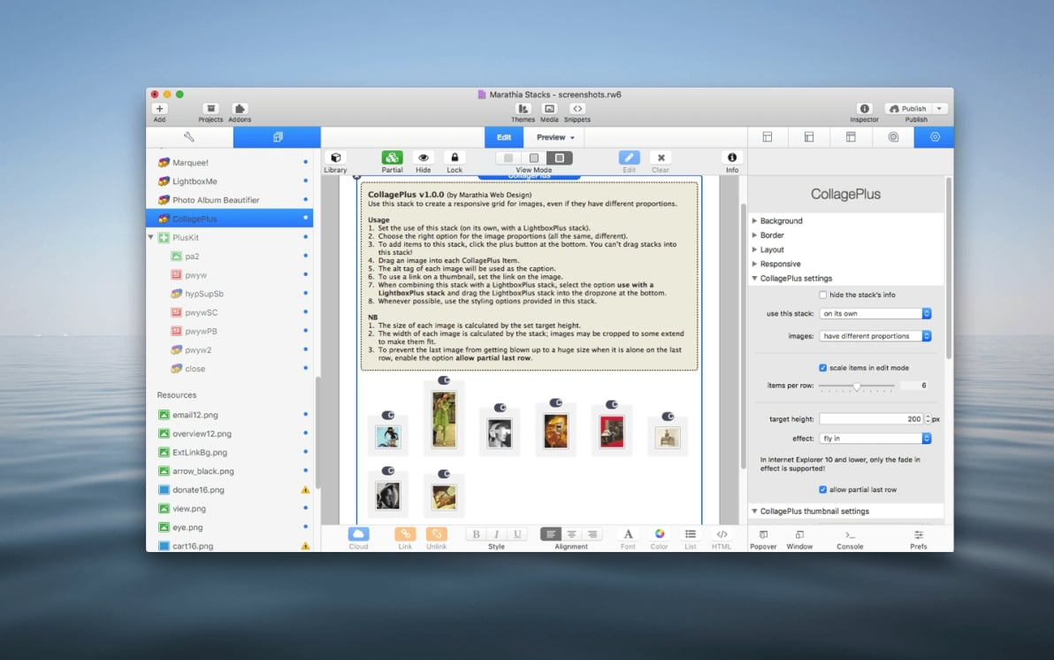 CollagePlus Stack screenshot
