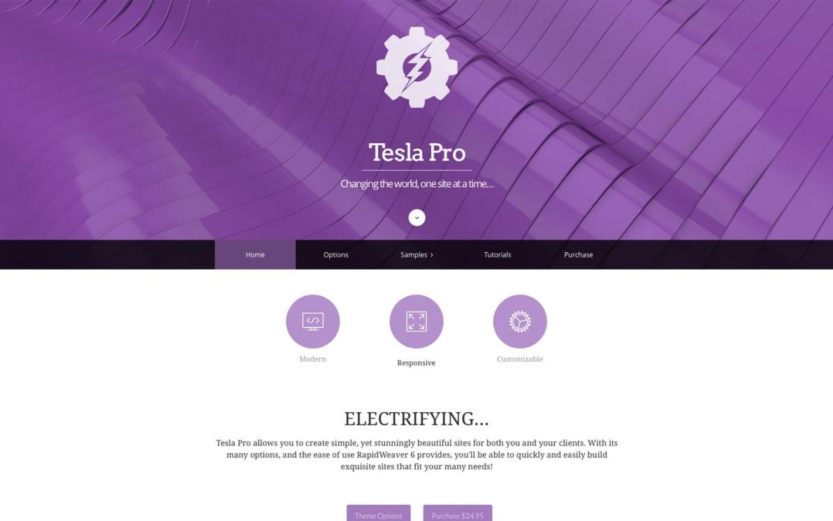 Tesla Pro screenshot
