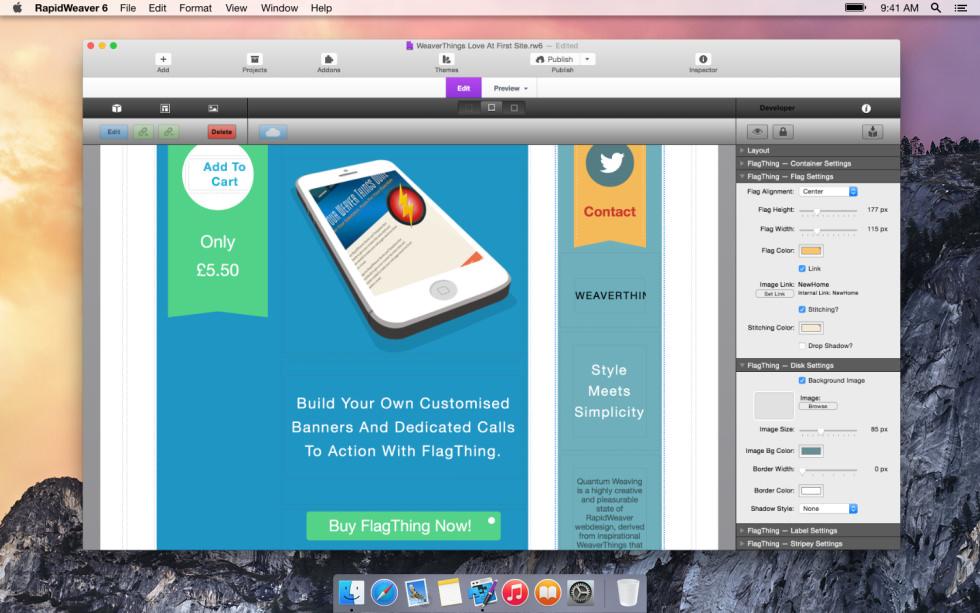 FlagThing screenshot