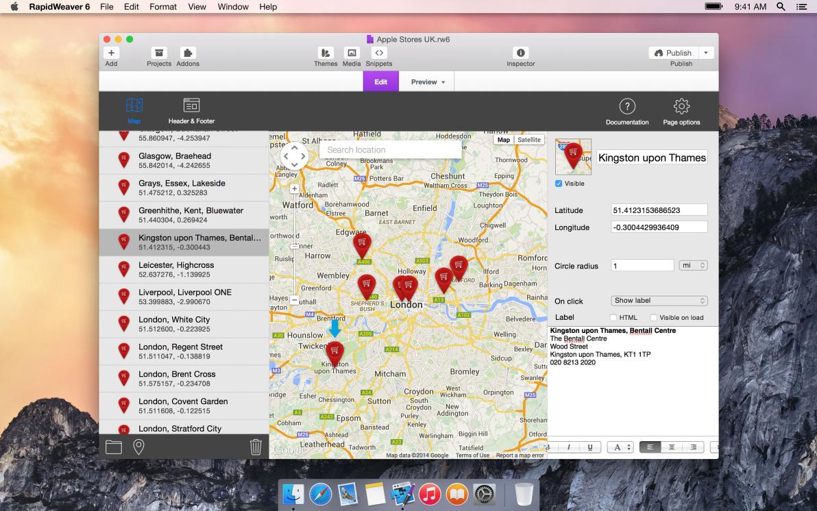 RapidMaps 3 screenshot