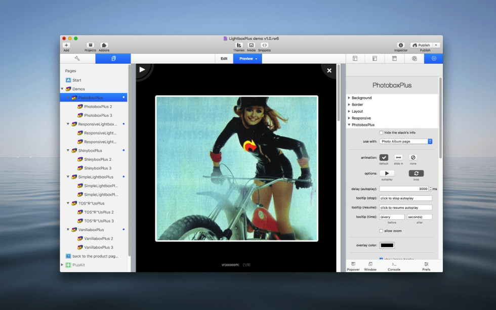 Photobox­Plus Stack screenshot