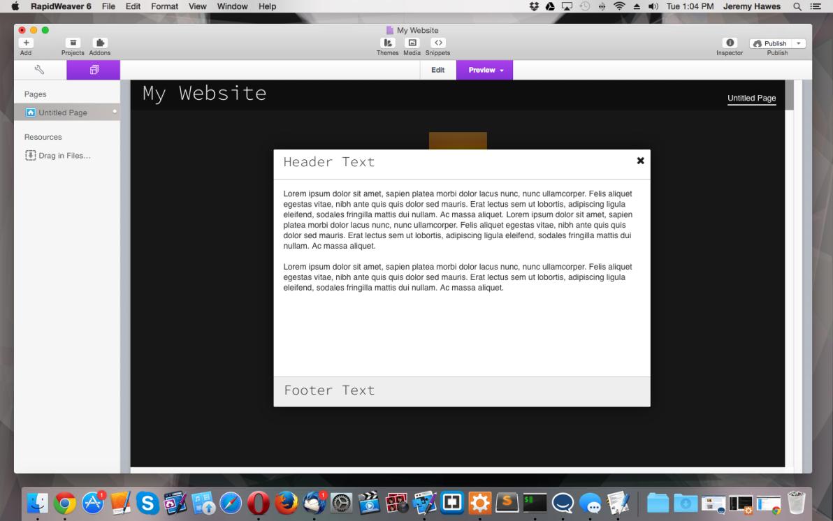 popBox screenshot