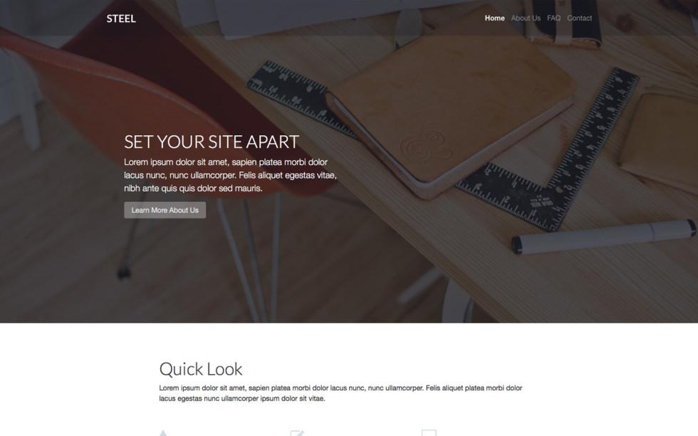 Steel screenshot