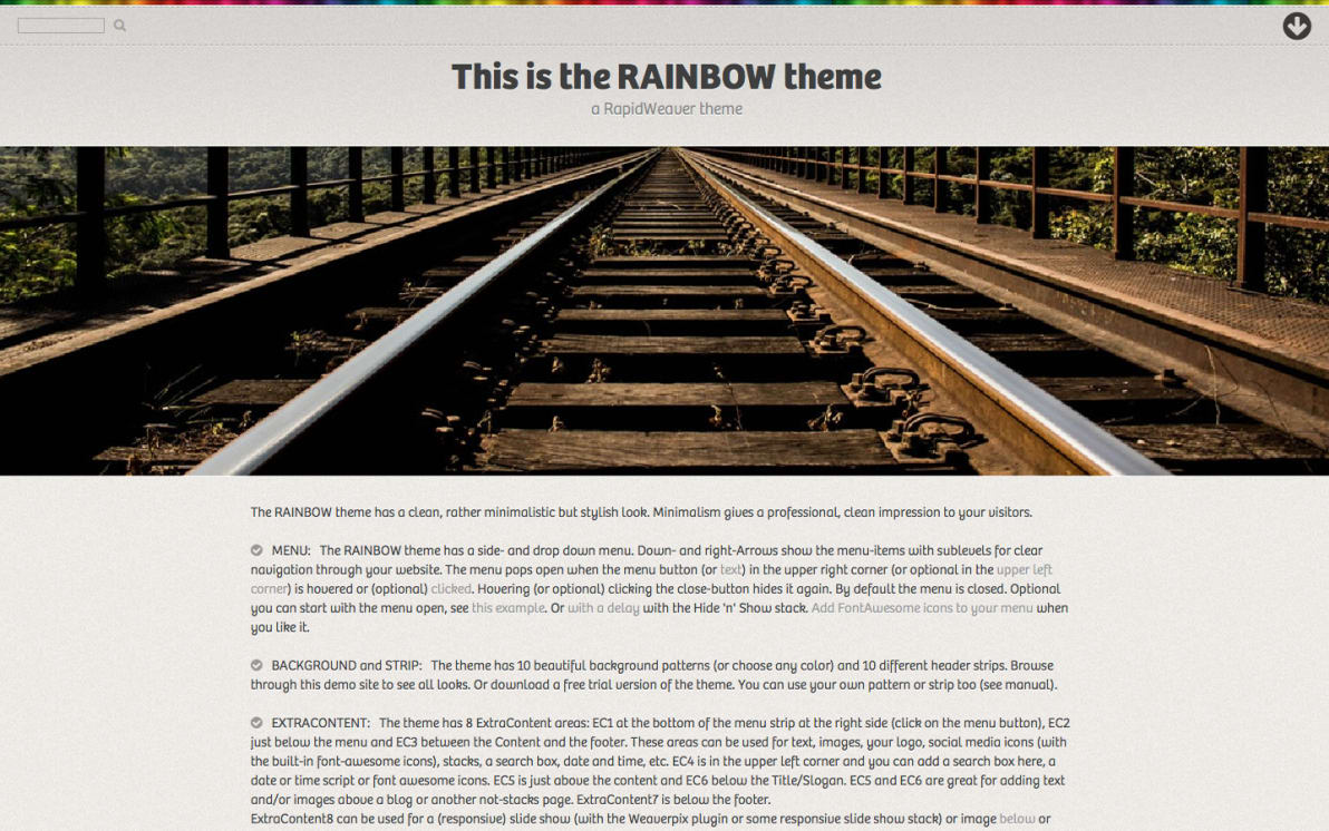 Rainbow screenshot