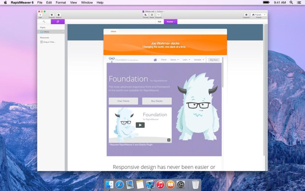 Offsite screenshot