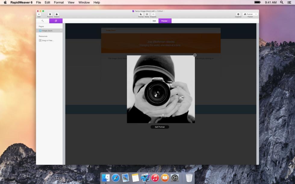 Zoom Image screenshot