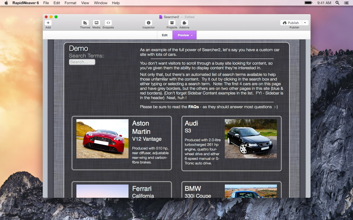 Searcher2 screenshot
