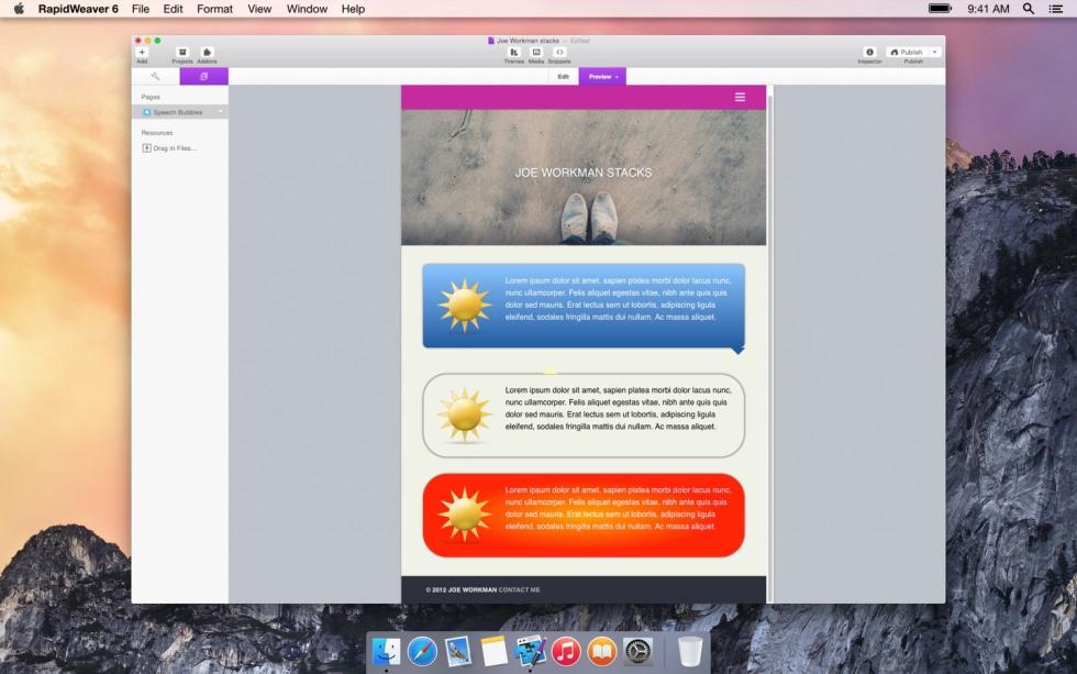 Speech Bubble screenshot