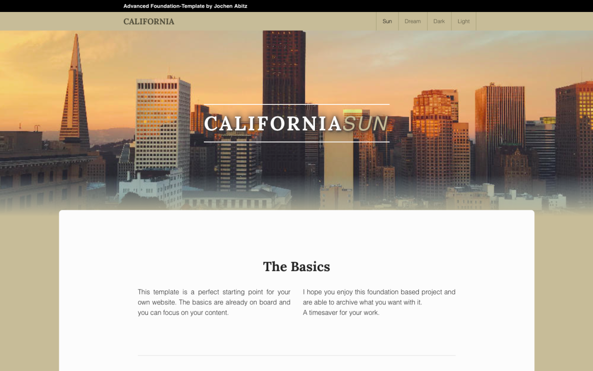 California screenshot