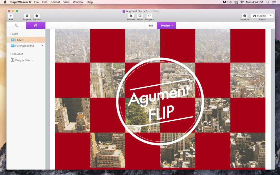 Augment Flip screenshot