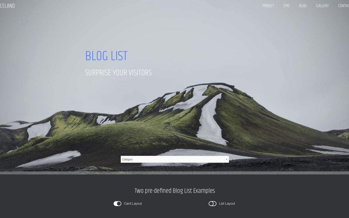 Iceland screenshot