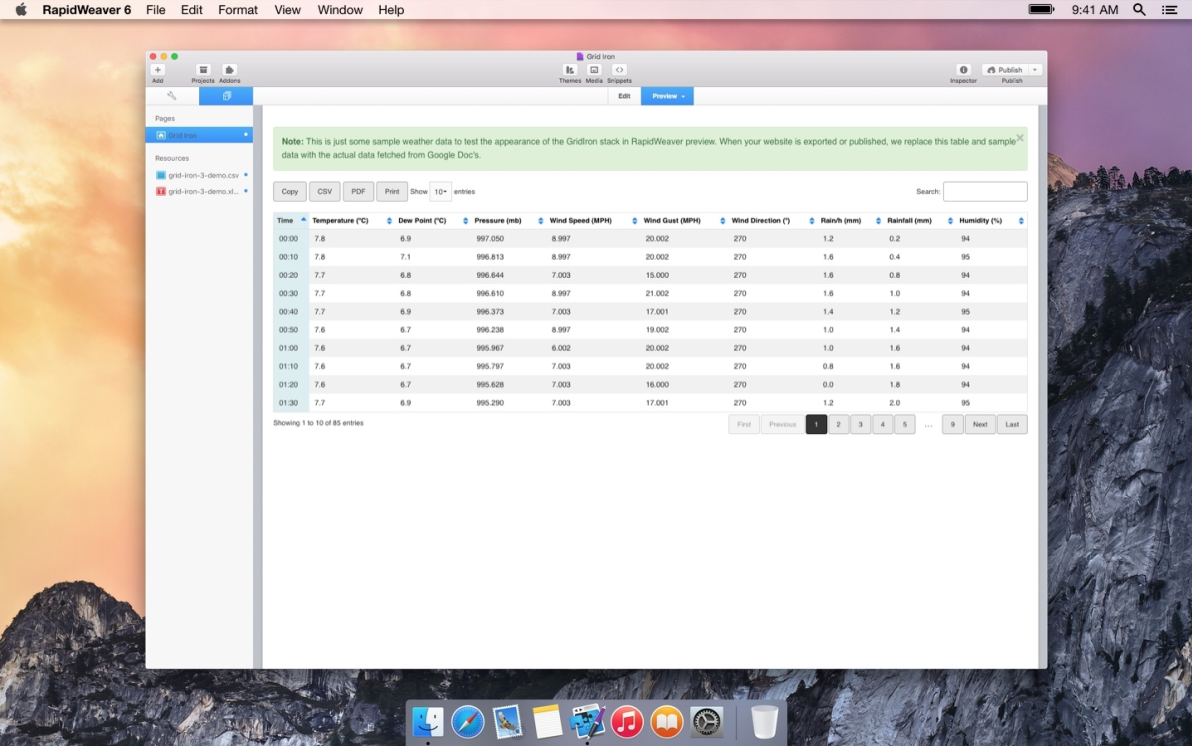 Grid Iron screenshot