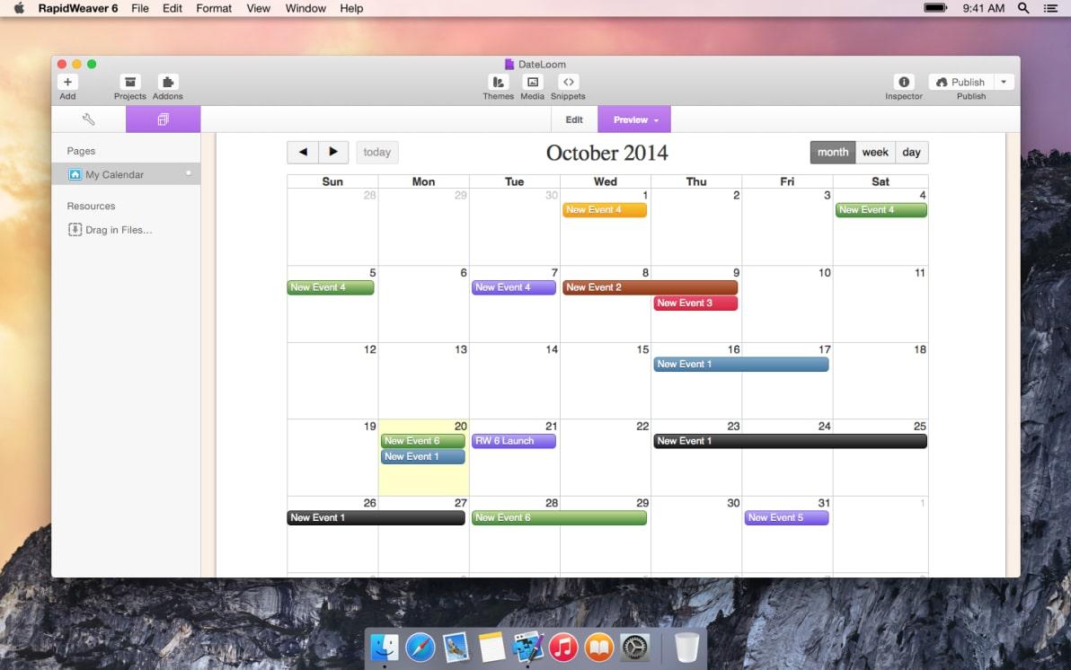 DateLoom screenshot