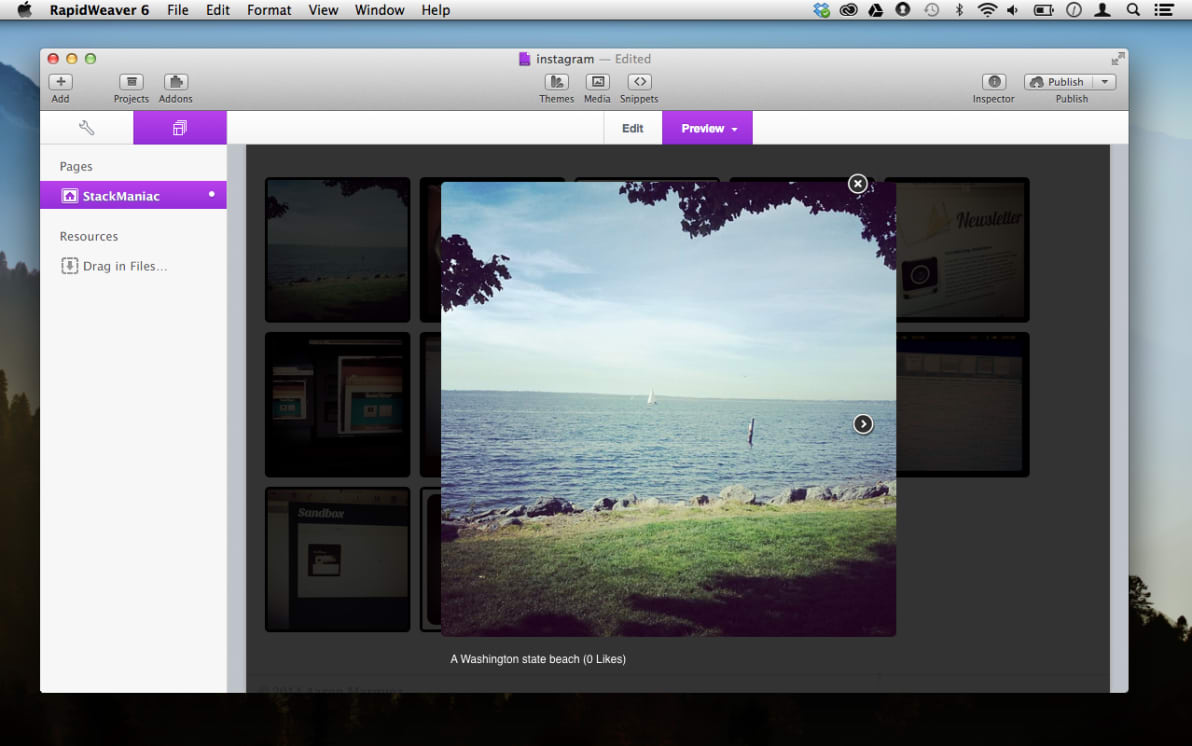 InstaViewer screenshot