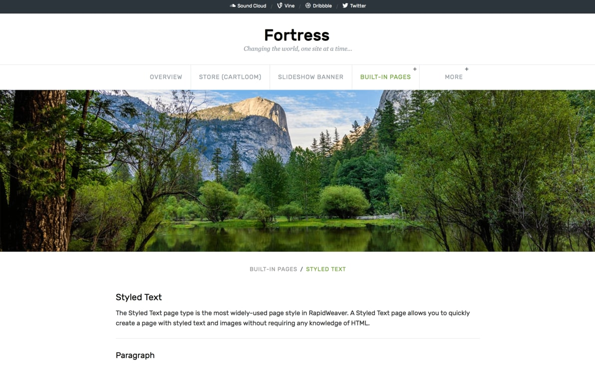 Fortress screenshot