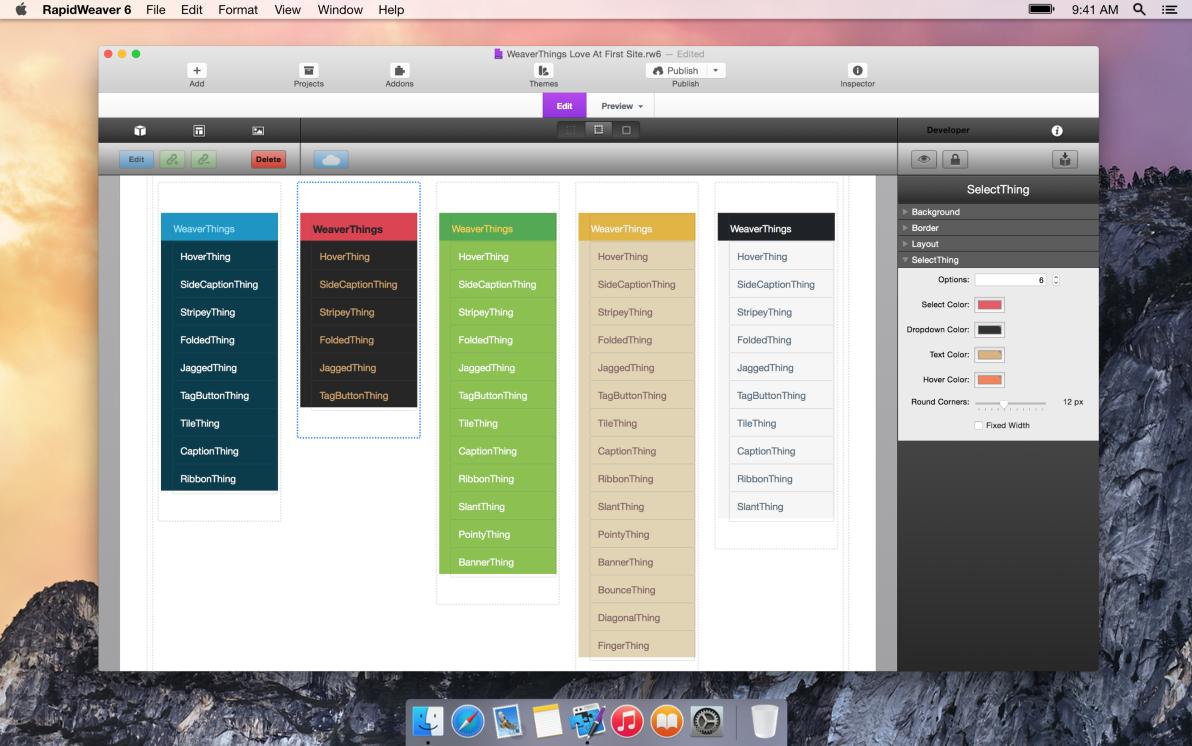 SelectThing screenshot