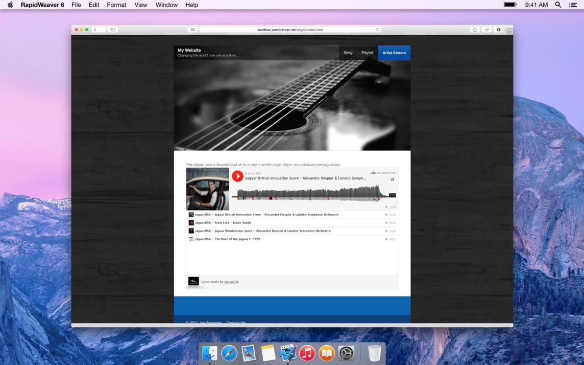 SoundCloud screenshot