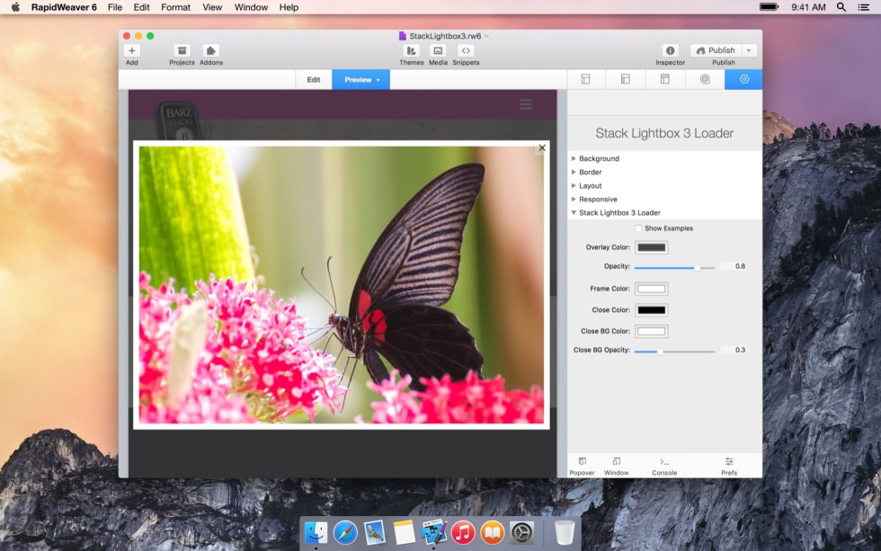 Stack Lightbox 3 screenshot