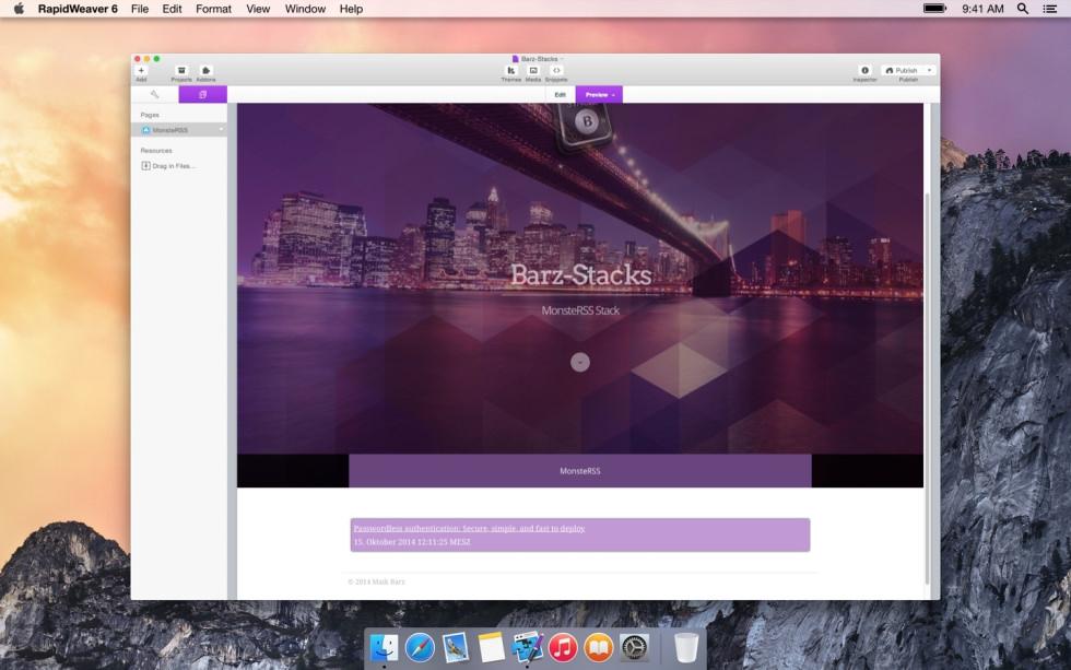 MonsterRSS screenshot