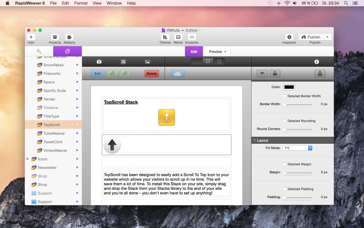 TopScroll 2 screenshot