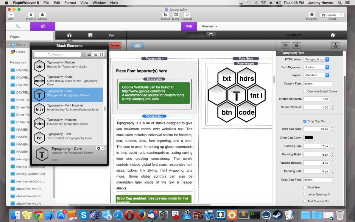 Typography Suite screenshot
