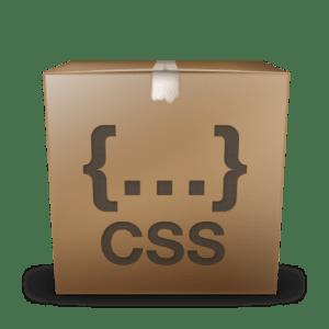 CSS Box icon