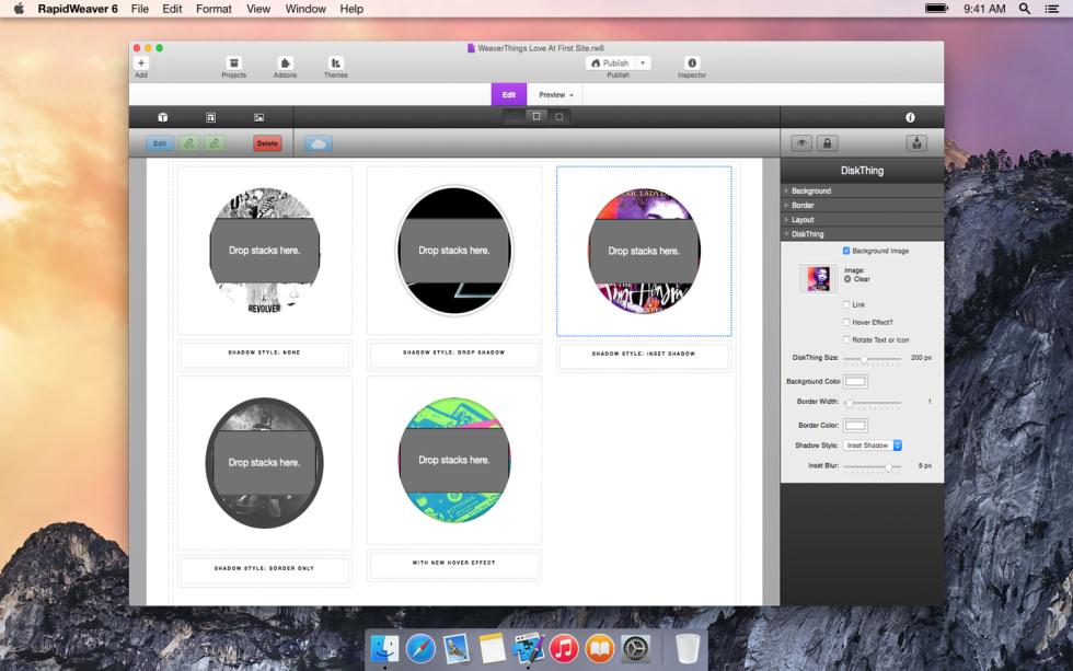 DiskThing screenshot