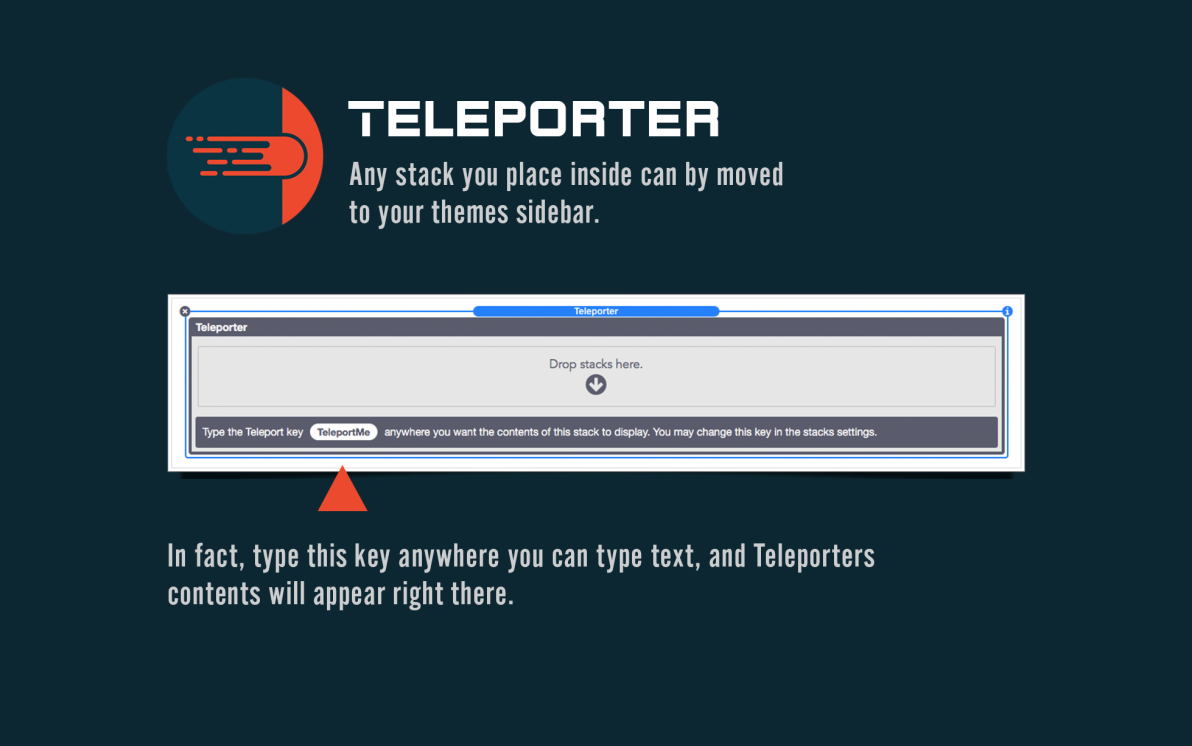Teleporter screenshot