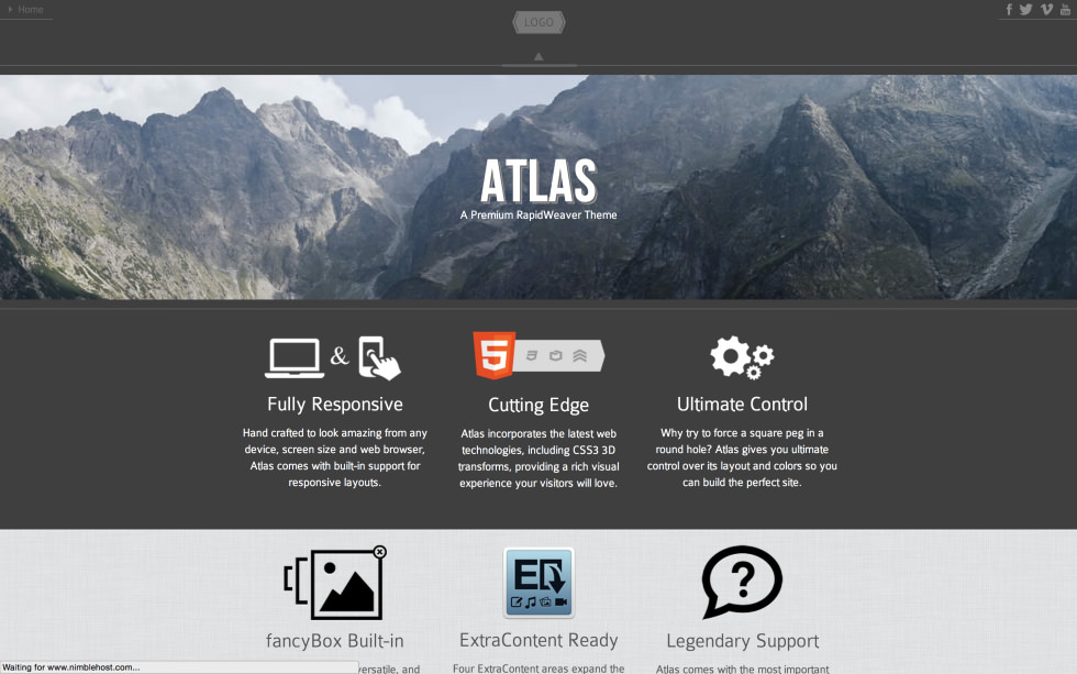 Atlas screenshot