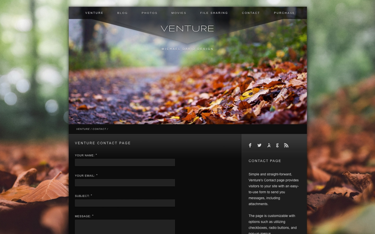 Venture screenshot