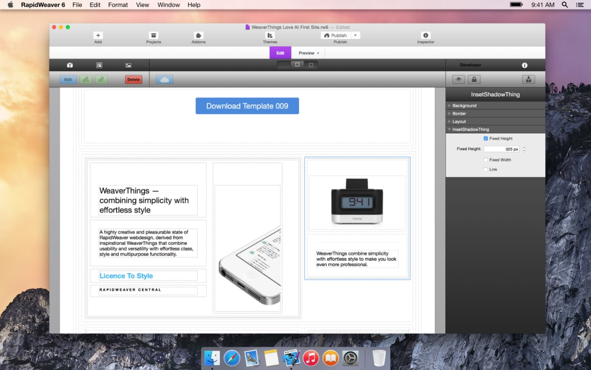 InsetShadowThing screenshot
