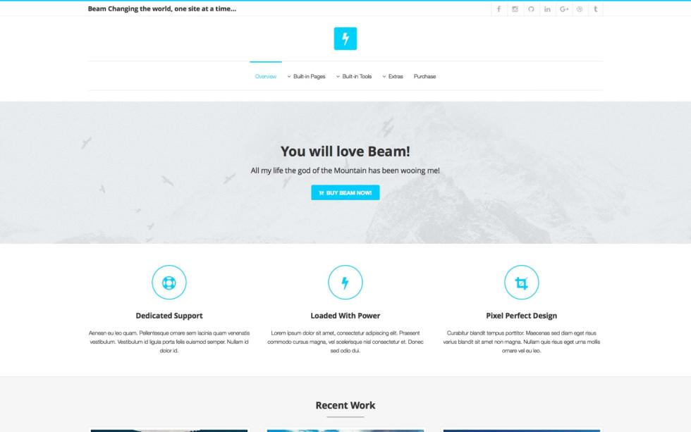 Beam screenshot