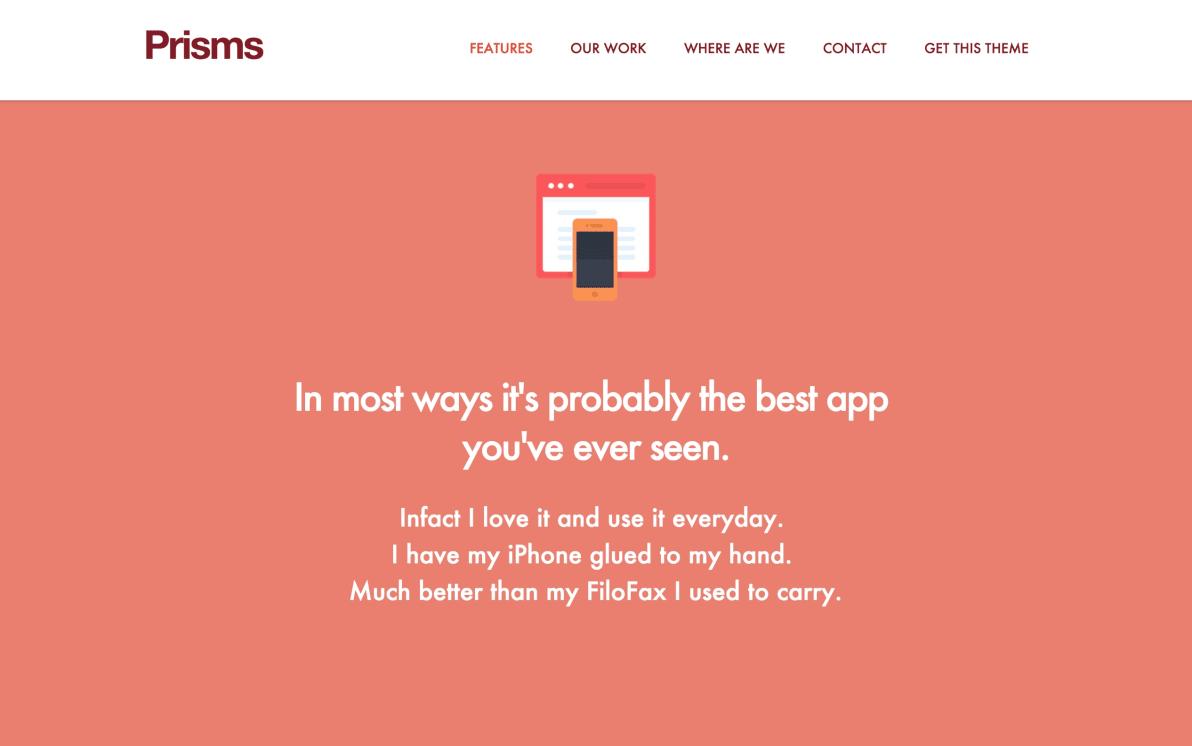 Prisms screenshot