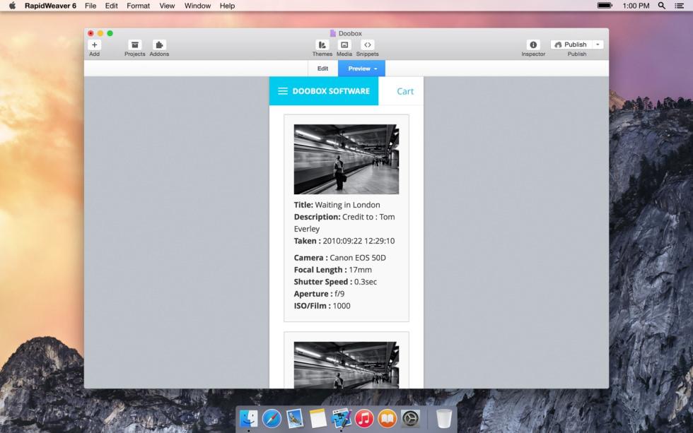 Exif screenshot