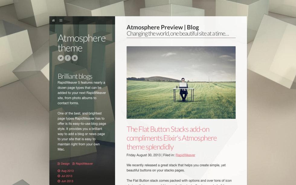 Atmosphere screenshot