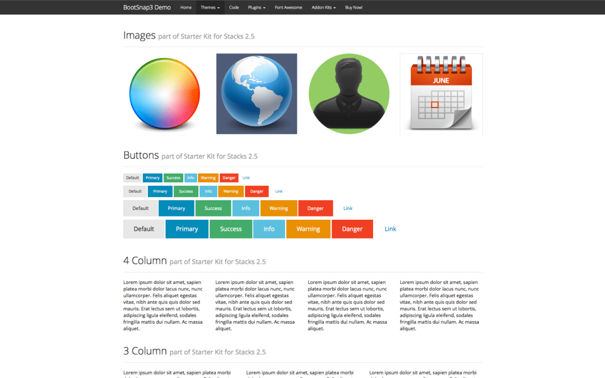 BootSnap3 Theme screenshot