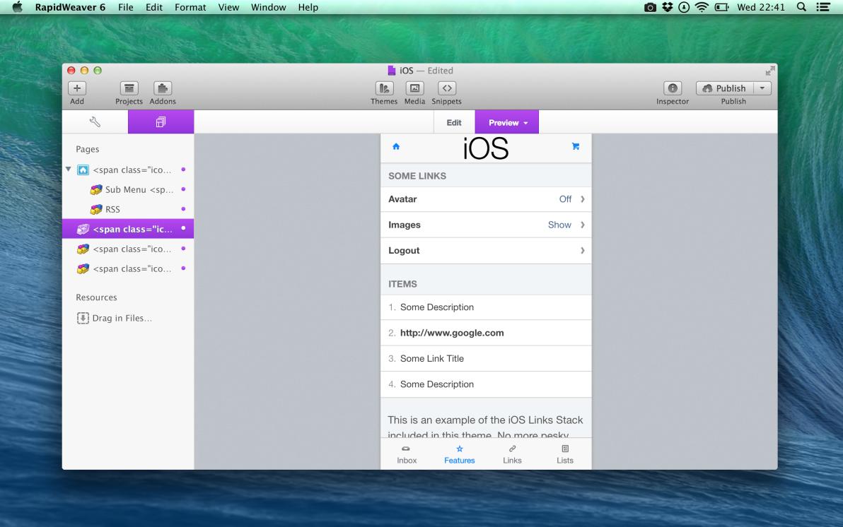 iOS screenshot