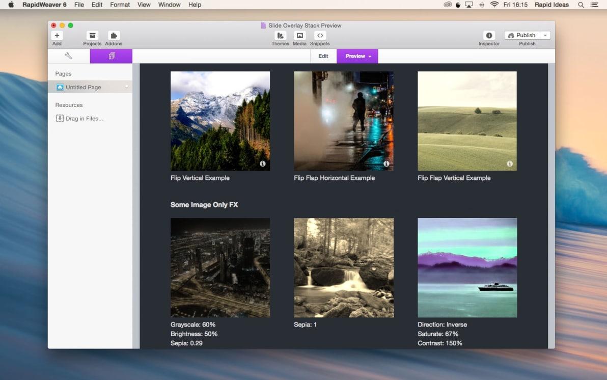 Slide Overlay screenshot