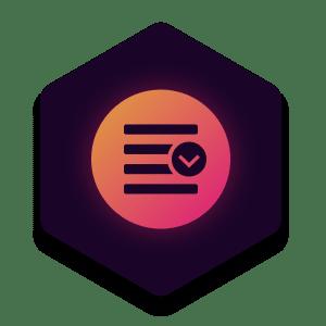 Overlay Menu icon