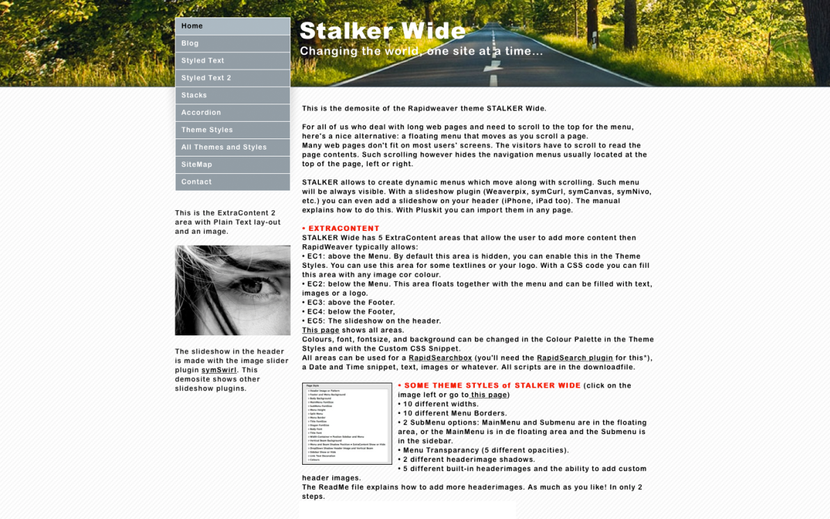 Stalker Wide screenshot