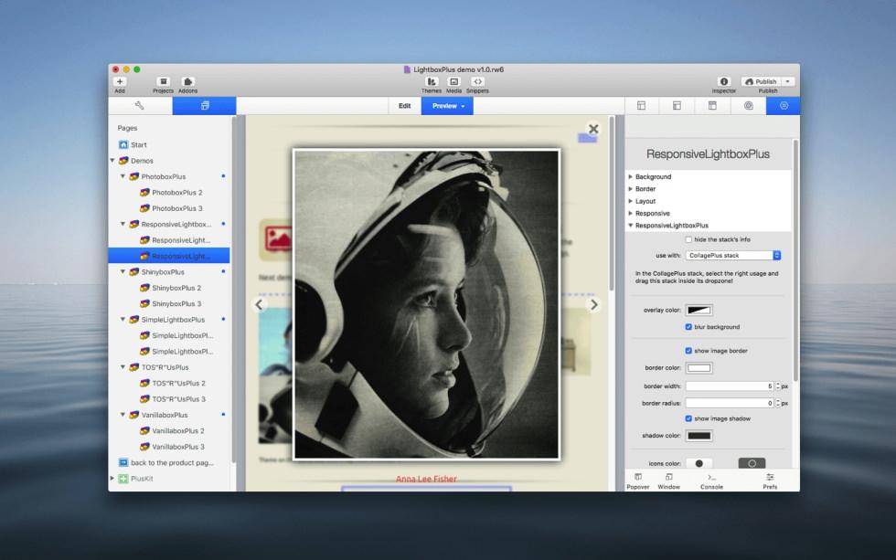 ResponsiveLightboxPlus Stack screenshot