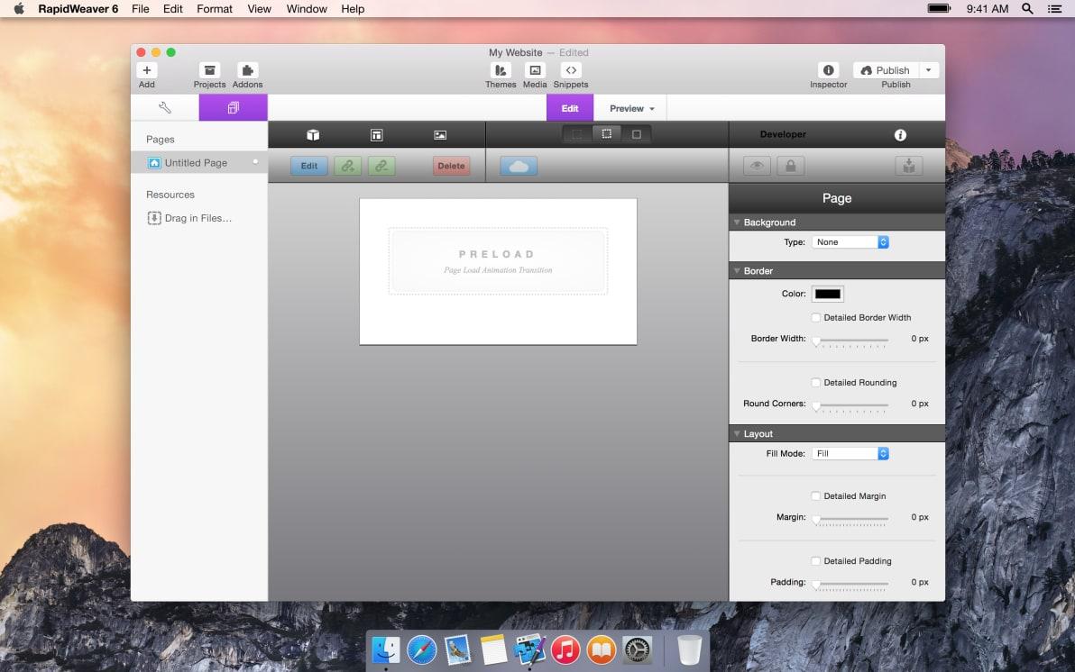 Preload screenshot