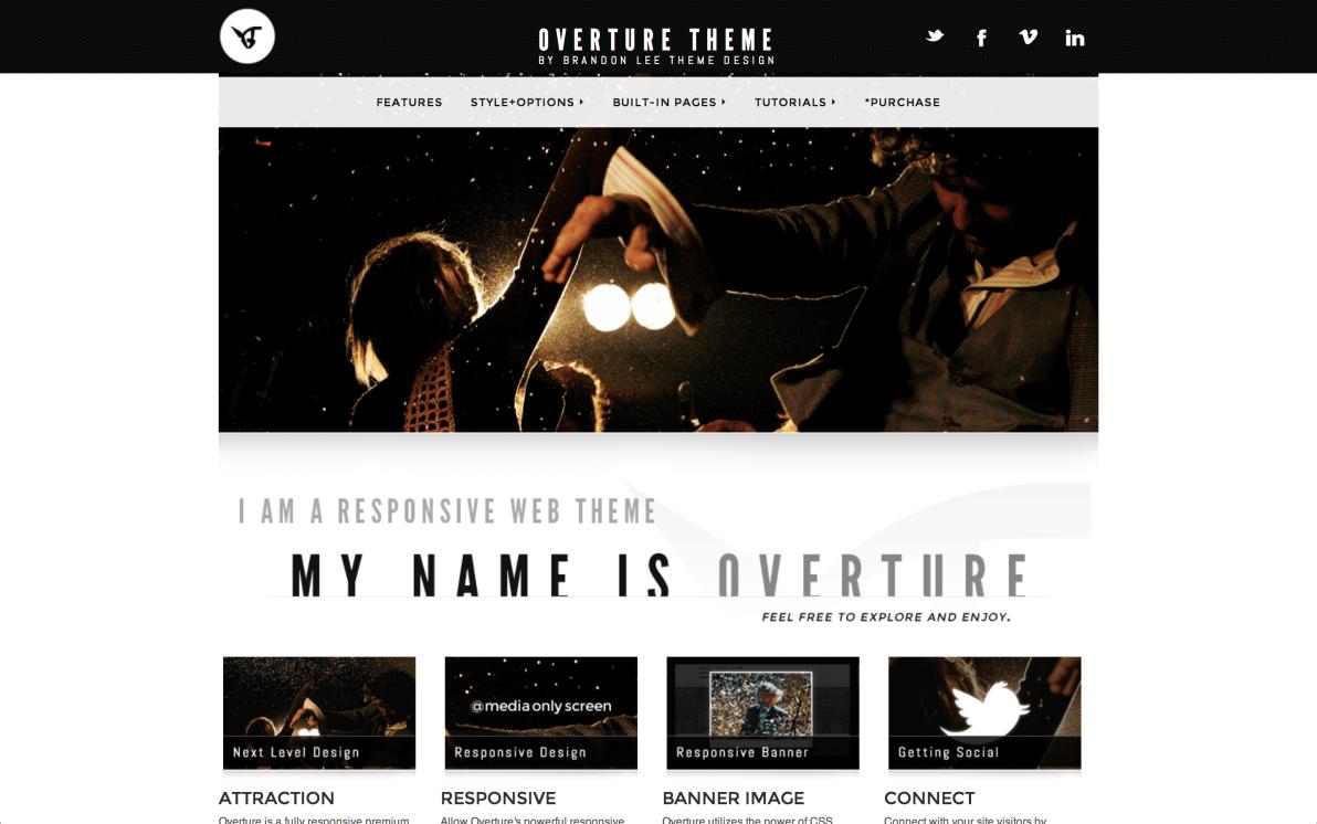 Overture screenshot