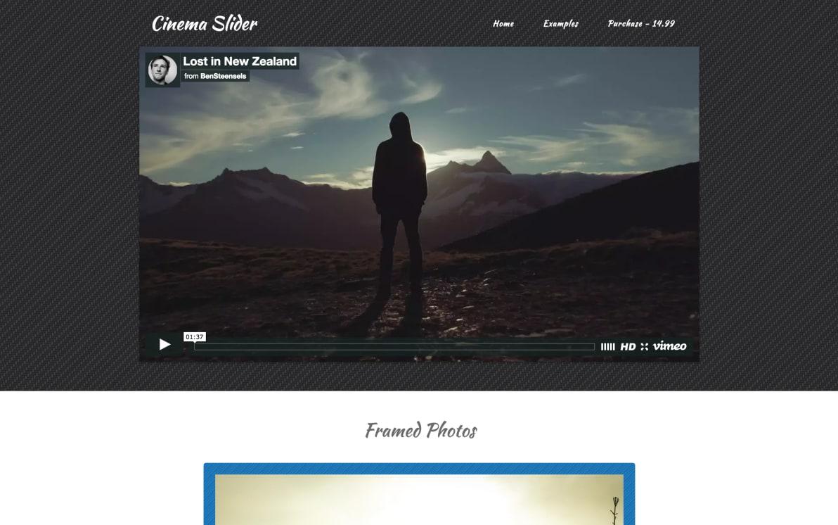 Cinema Slider screenshot