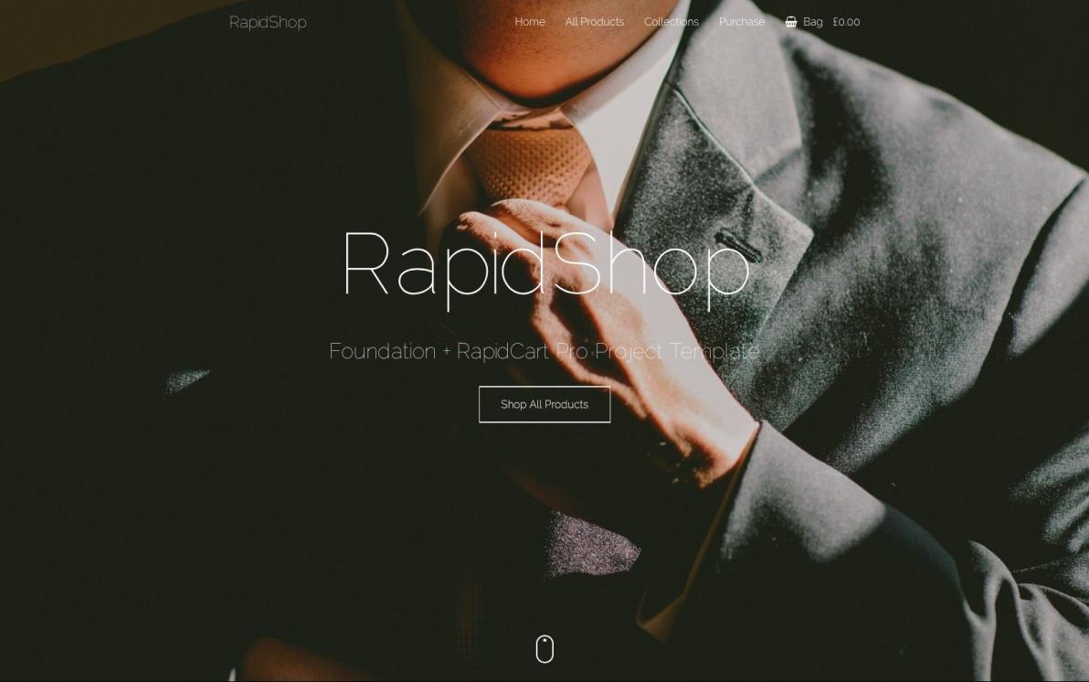 RapidShop screenshot