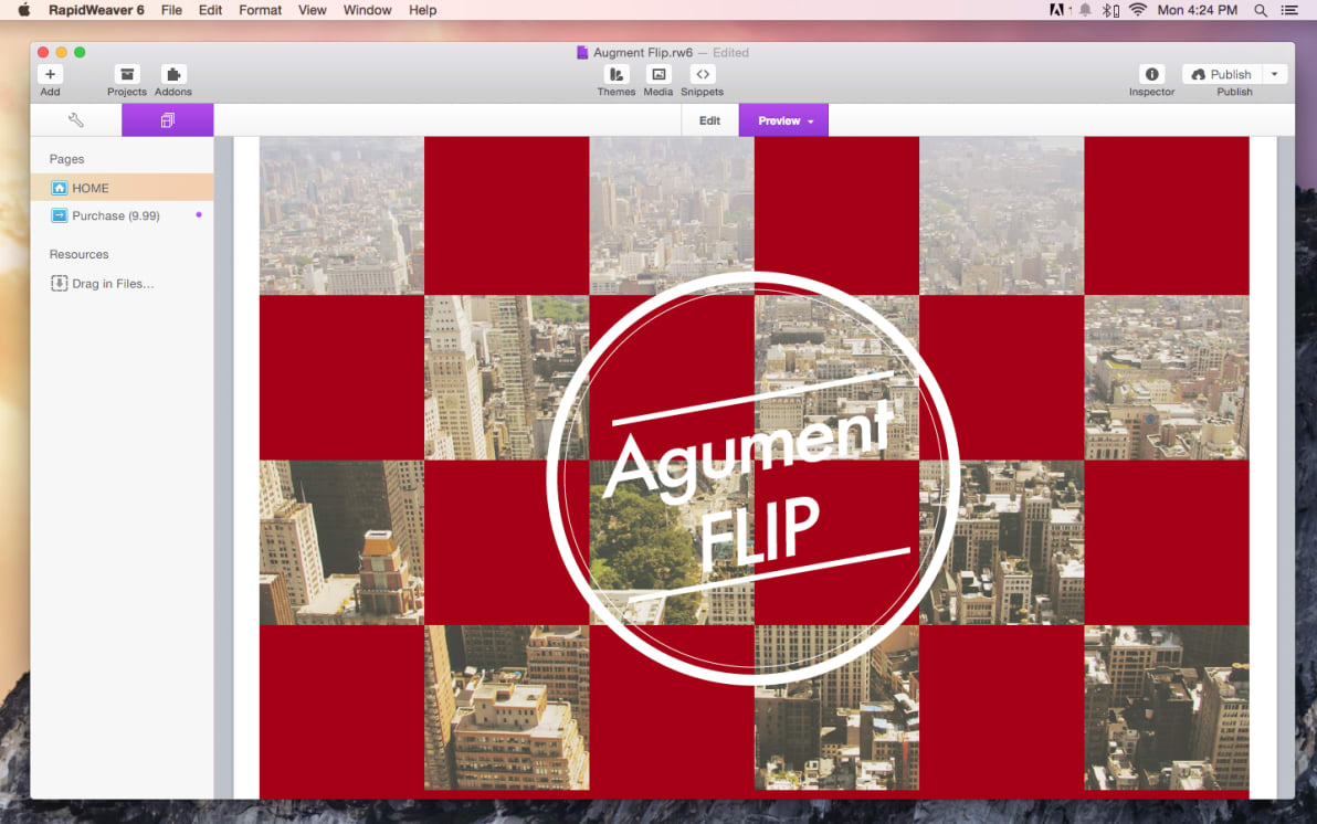 Augment Flip screenshot