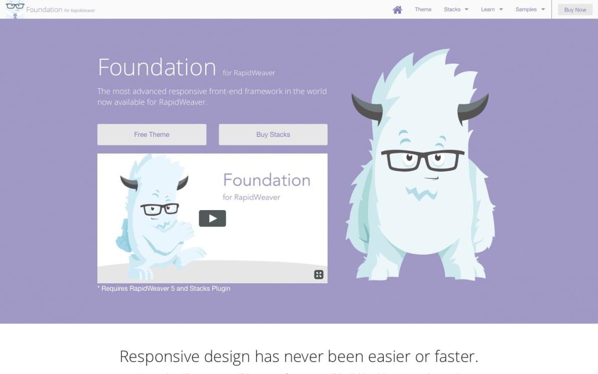 Foundation screenshot