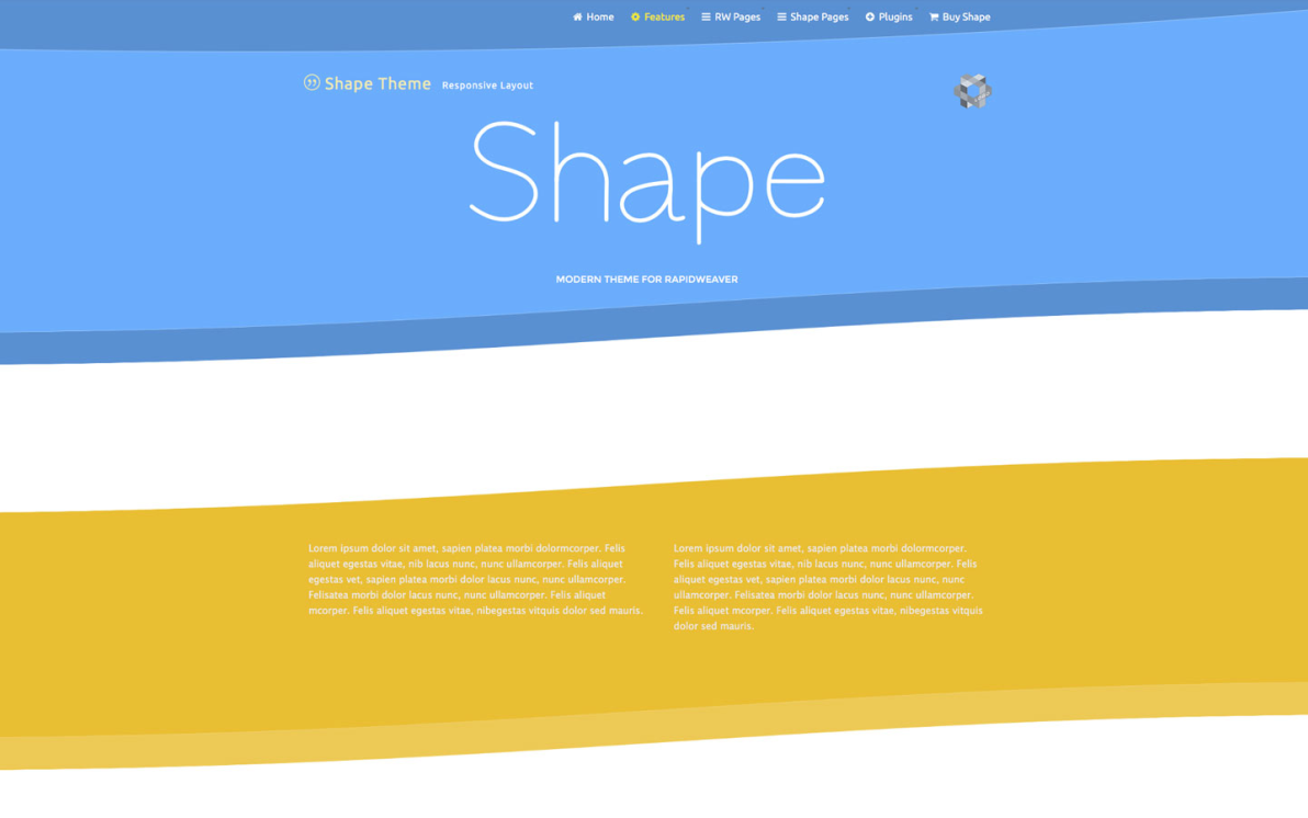 Shape screenshot