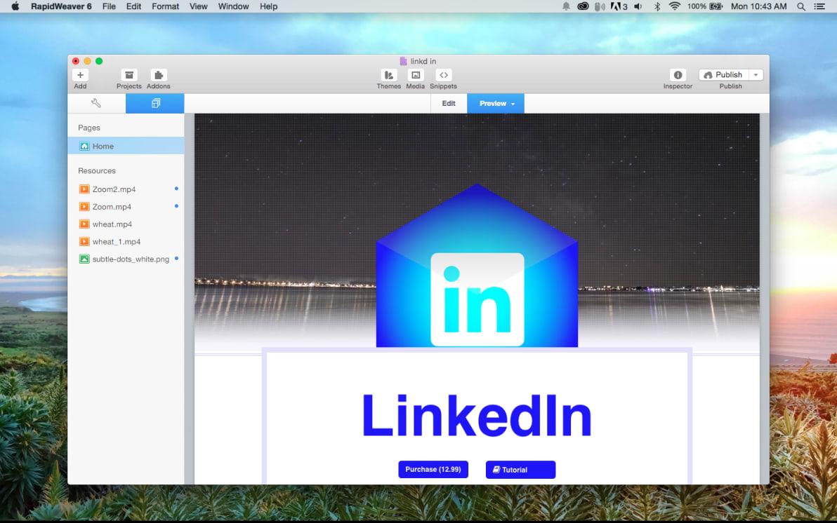 LinkedIn Connect screenshot