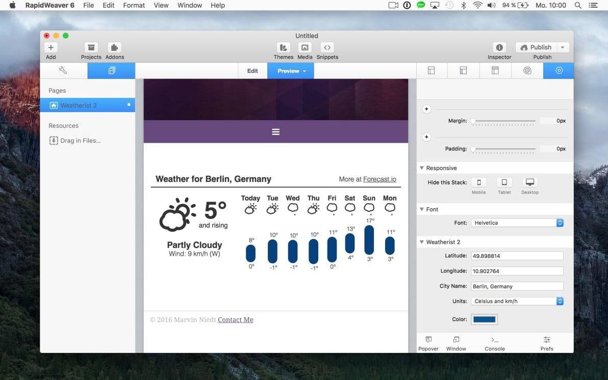 Weatherist 2 screenshot